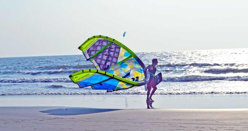 adventure sports goa, kite surfing in goa, adventure activities in goa