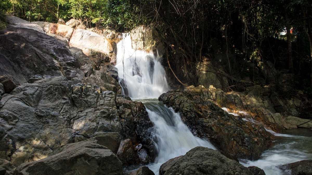 Than Sadet Waterfall, Waterfalls in Koh Phangan