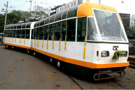AC tram, Trams in Kolkata