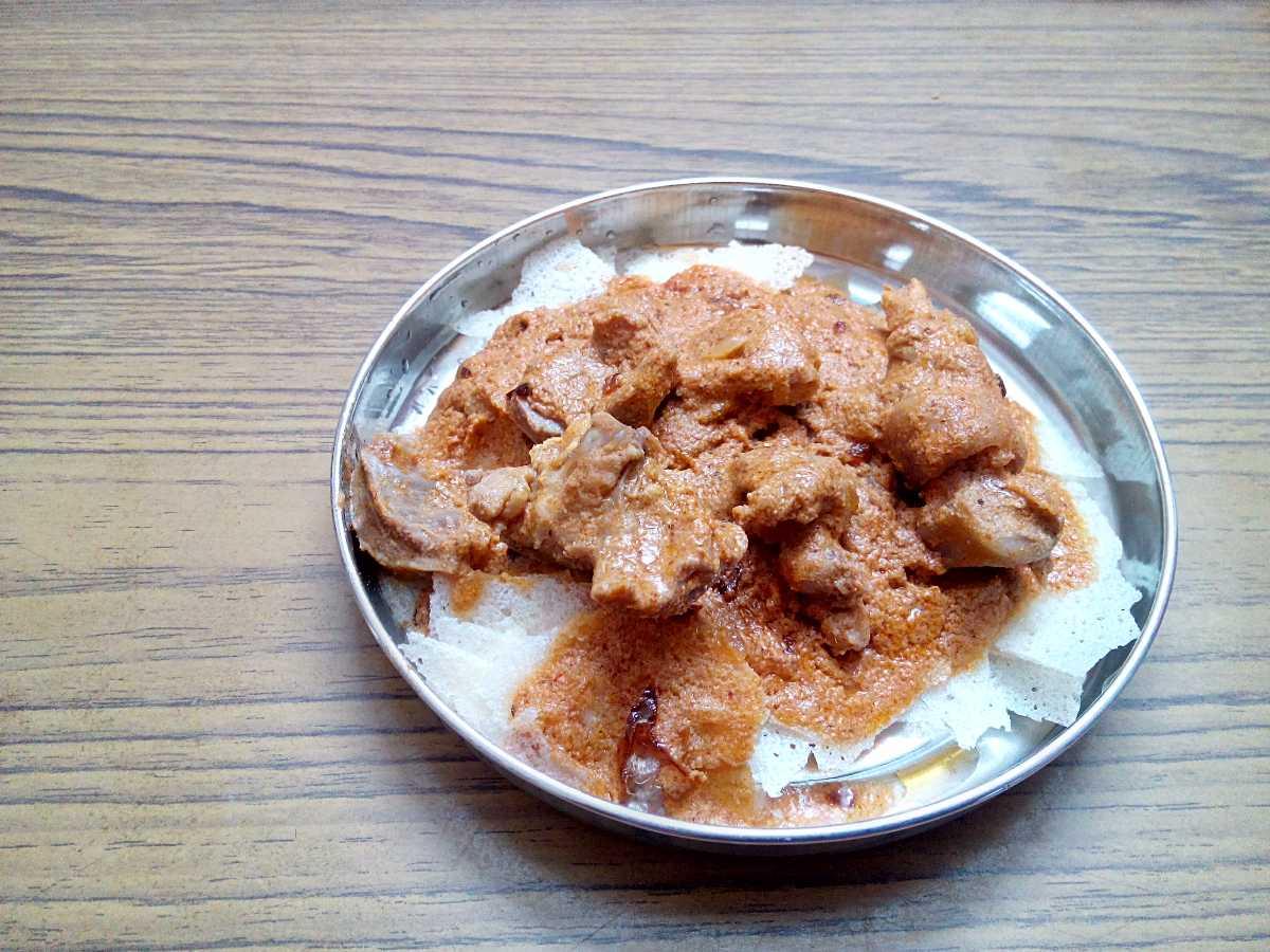 Korri Roti, Street Food of Mangalore