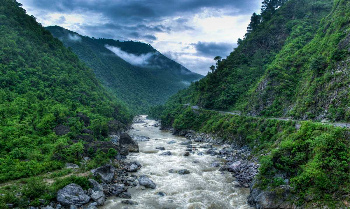Monsoon Season, Kumaon, Almora
