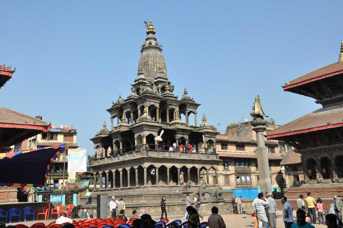 The iconic Krishna Temple.