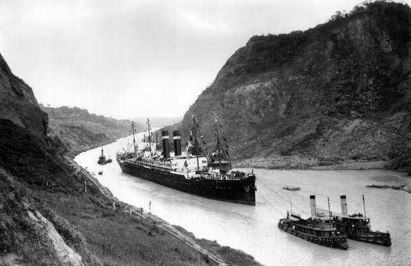Panama Canal 1915