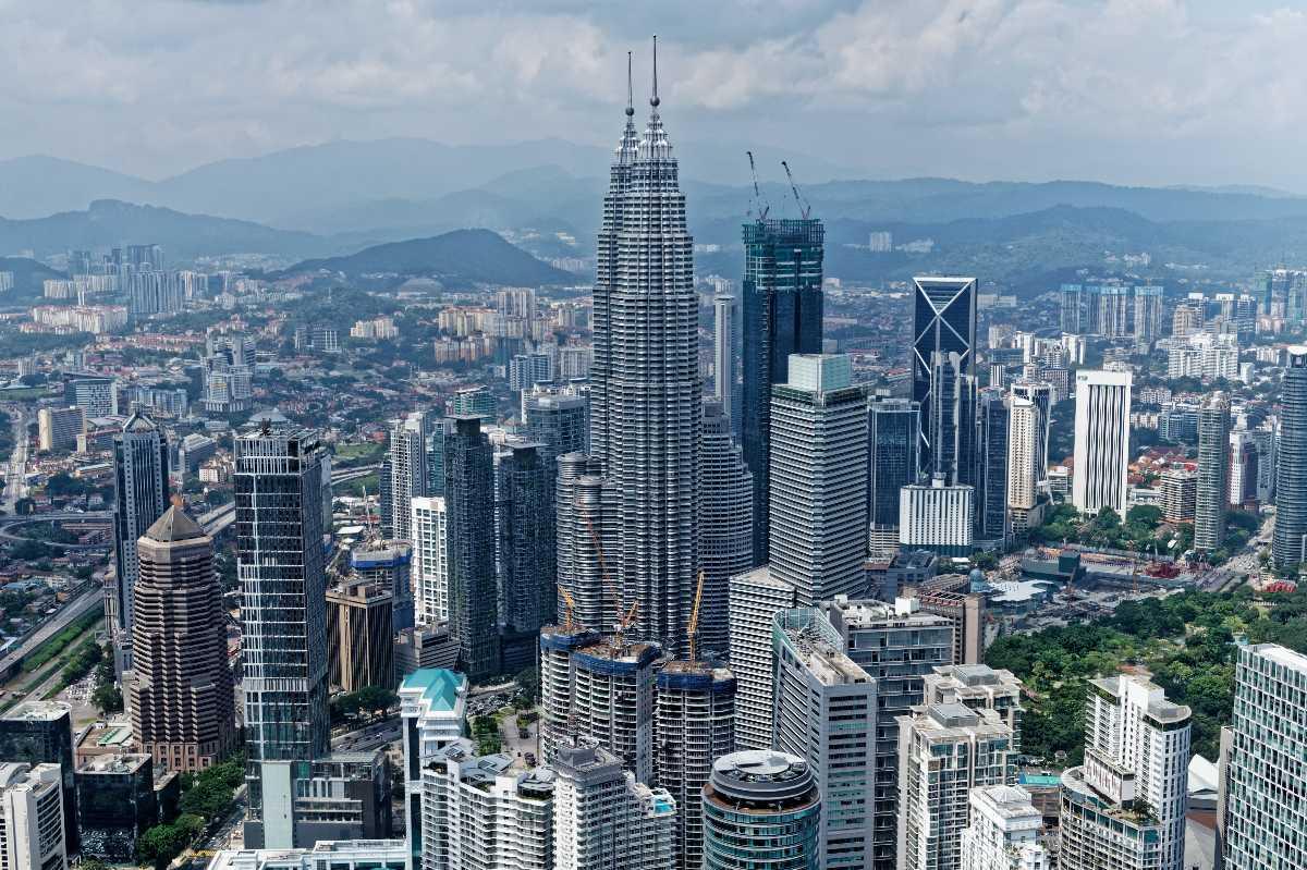 Kuala Lumpur Skyline from KL Tower