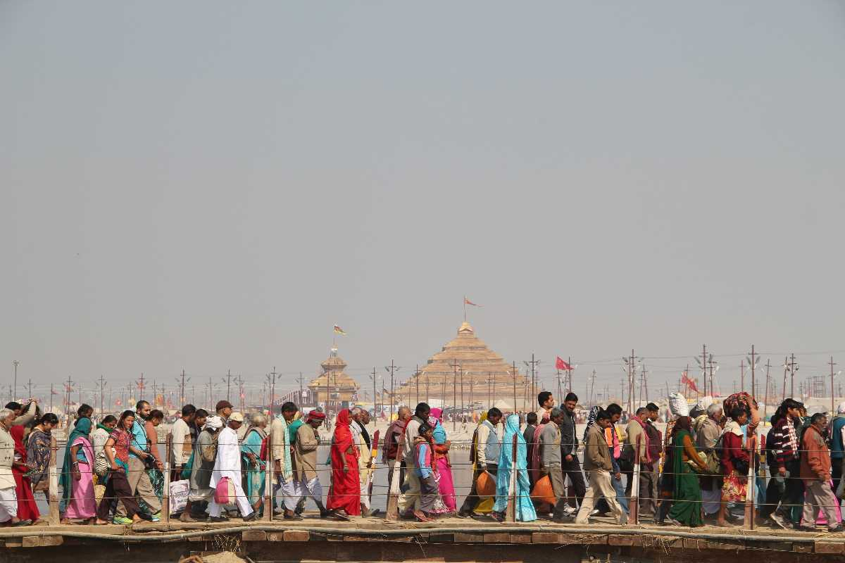 Pilgrims at Allahabad