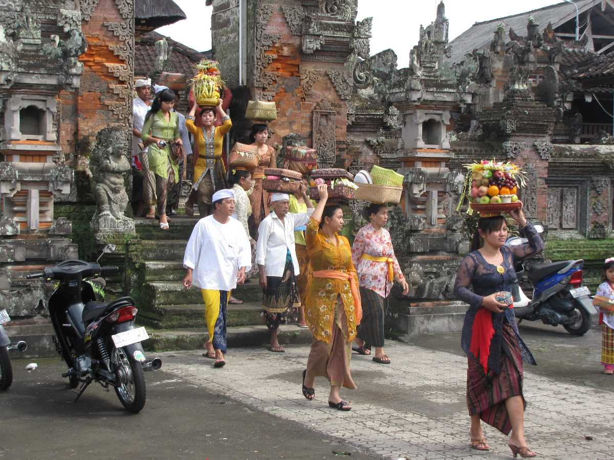 Kuningan in Bali, Indonesia