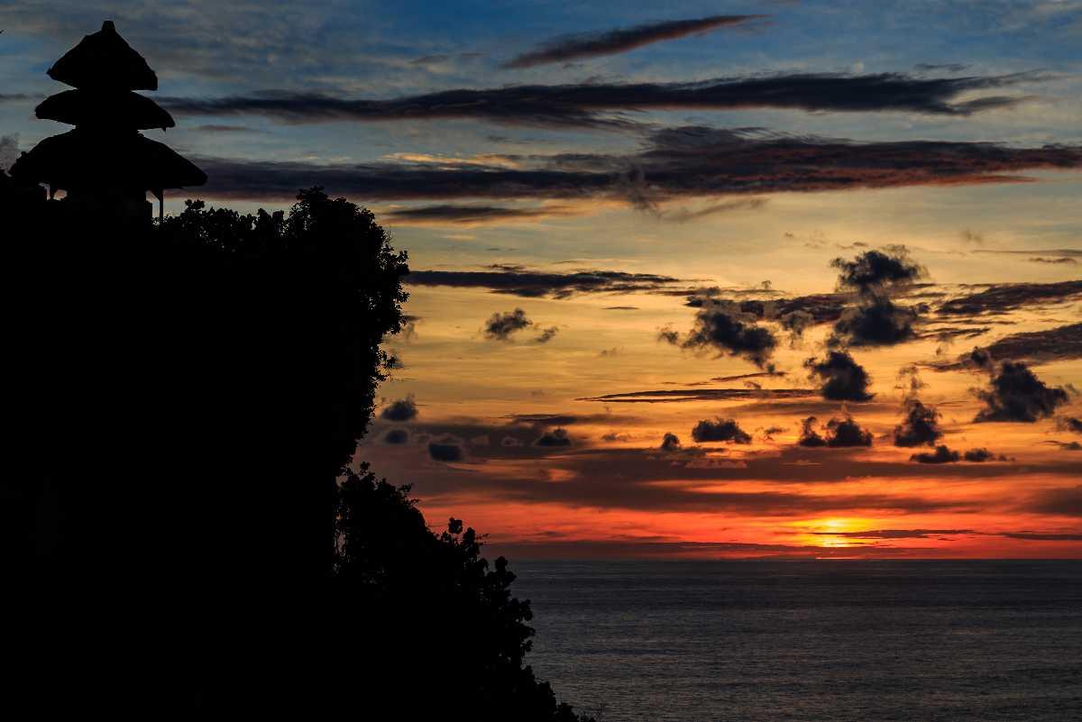 Sunset at Uluwatu Bali