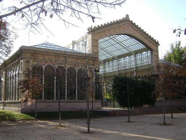 glass garden, parc de la ciutadella