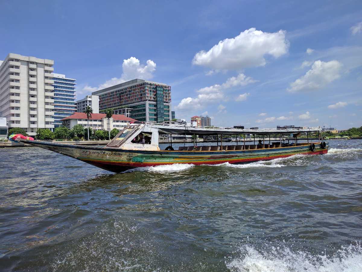Long-Tail Boat, Chao Phraya River