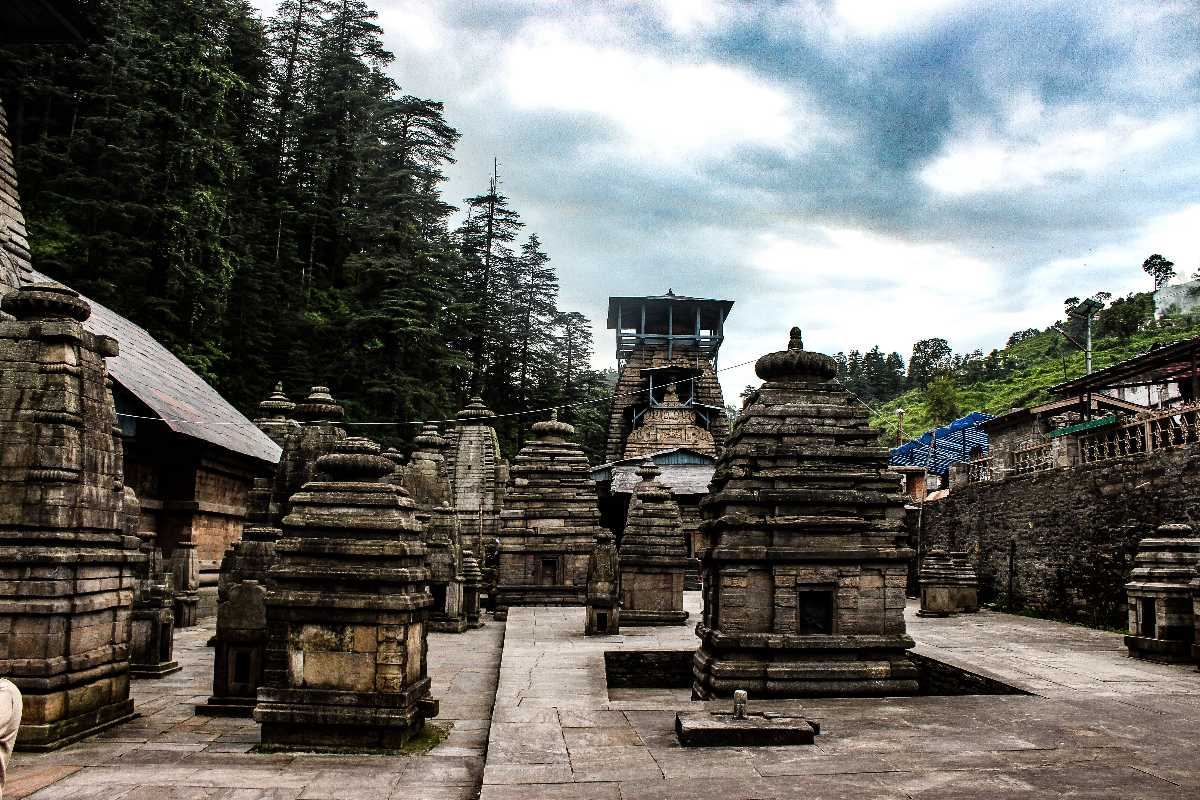 Jageshwar in monsoon