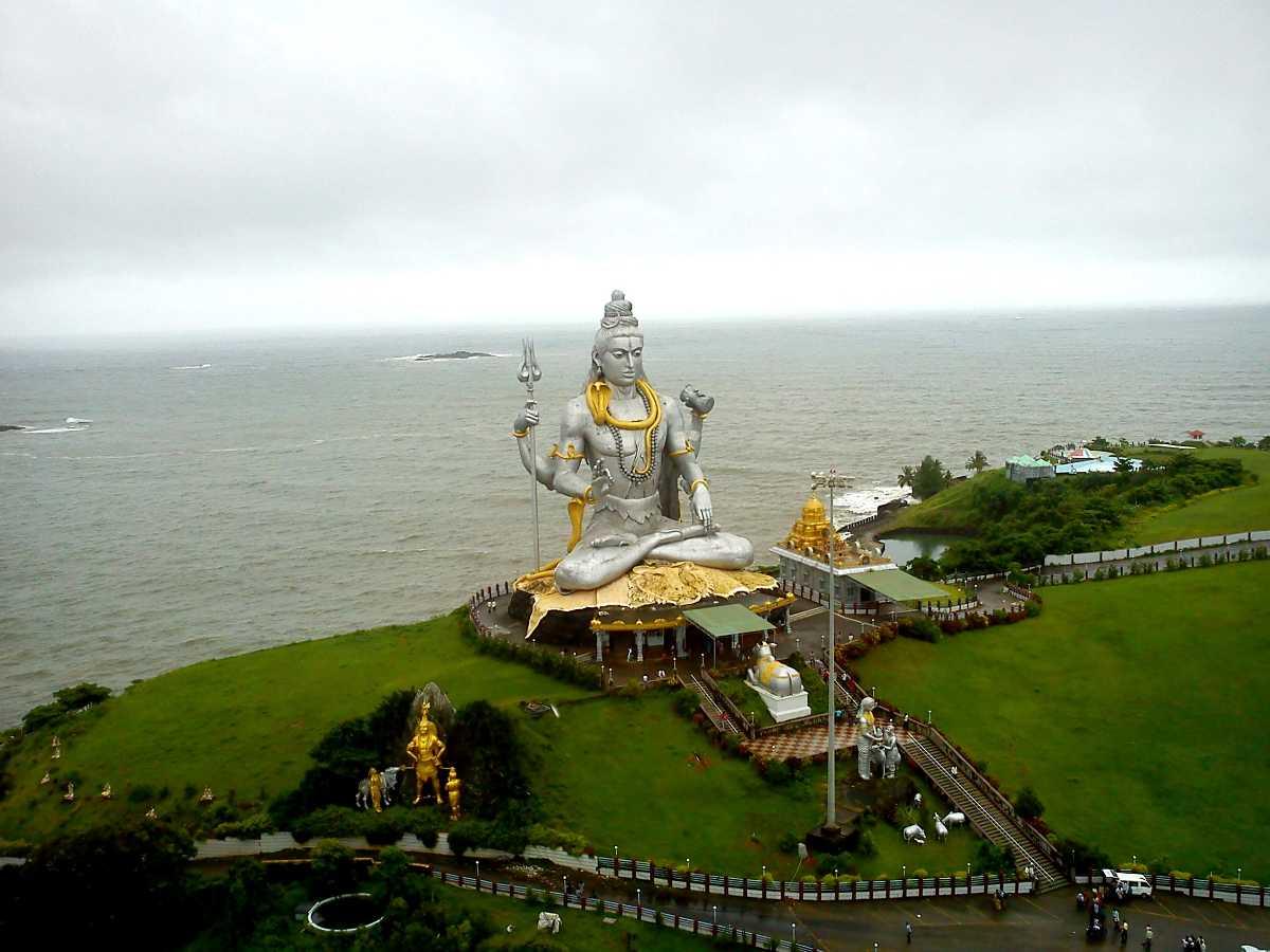 Lord Shiva Statue at Murudeshwar