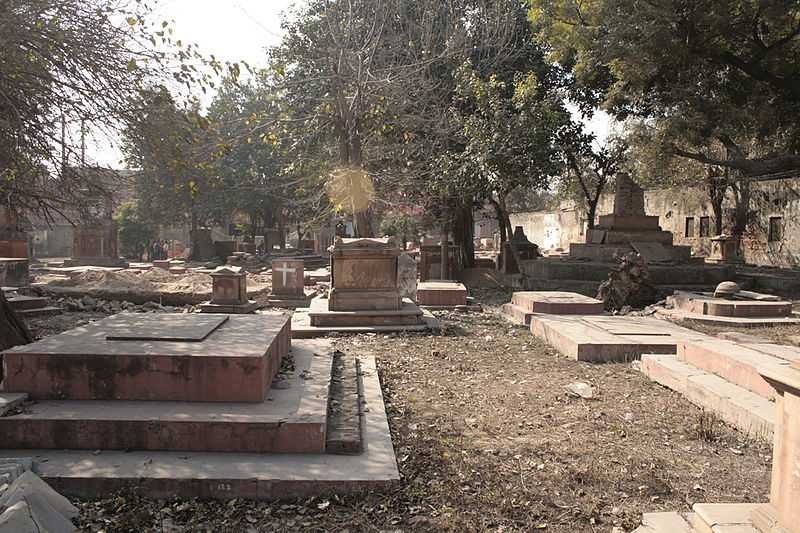 Lothian Cemetry, Haunted Places in India