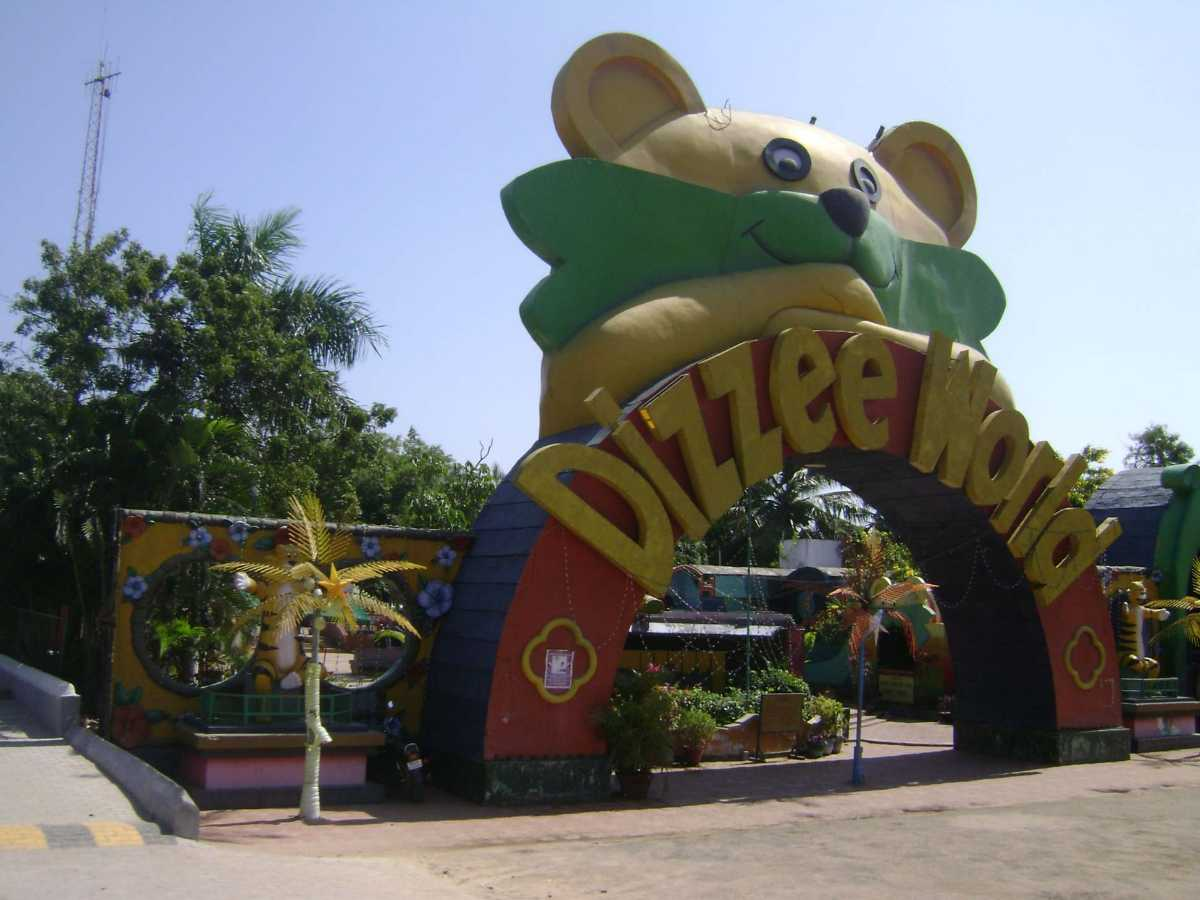MGM Dizzee World, Waterparks in Chennai