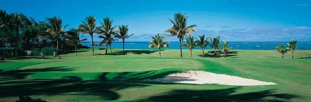 Ile Aux Cerfs Golf Club, golf courses in Mauritius