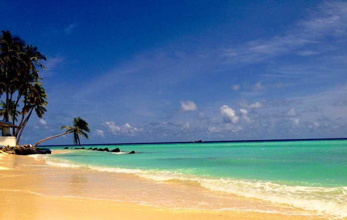 Maafushi Bikini Beach in Maldives