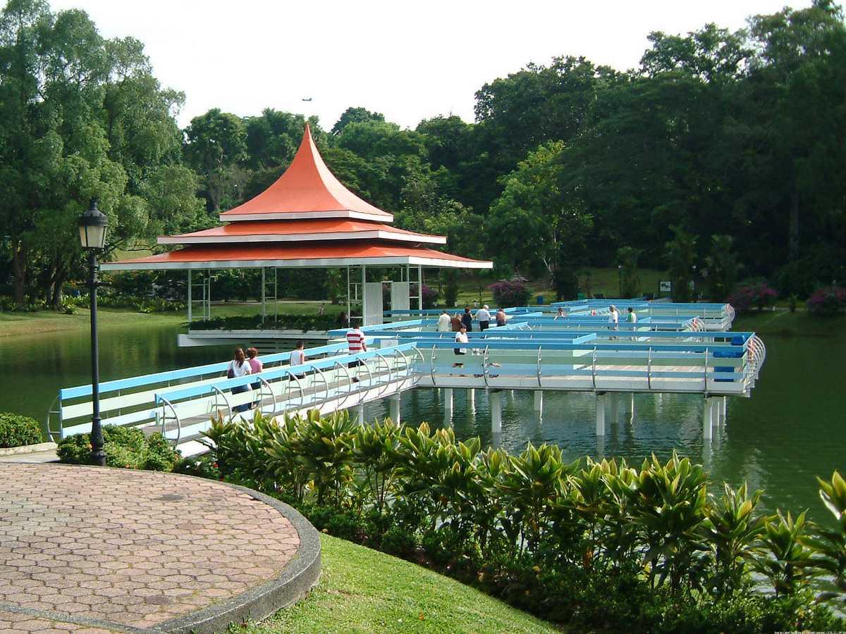 Macritchie Reservoir, Gardens in Singapore