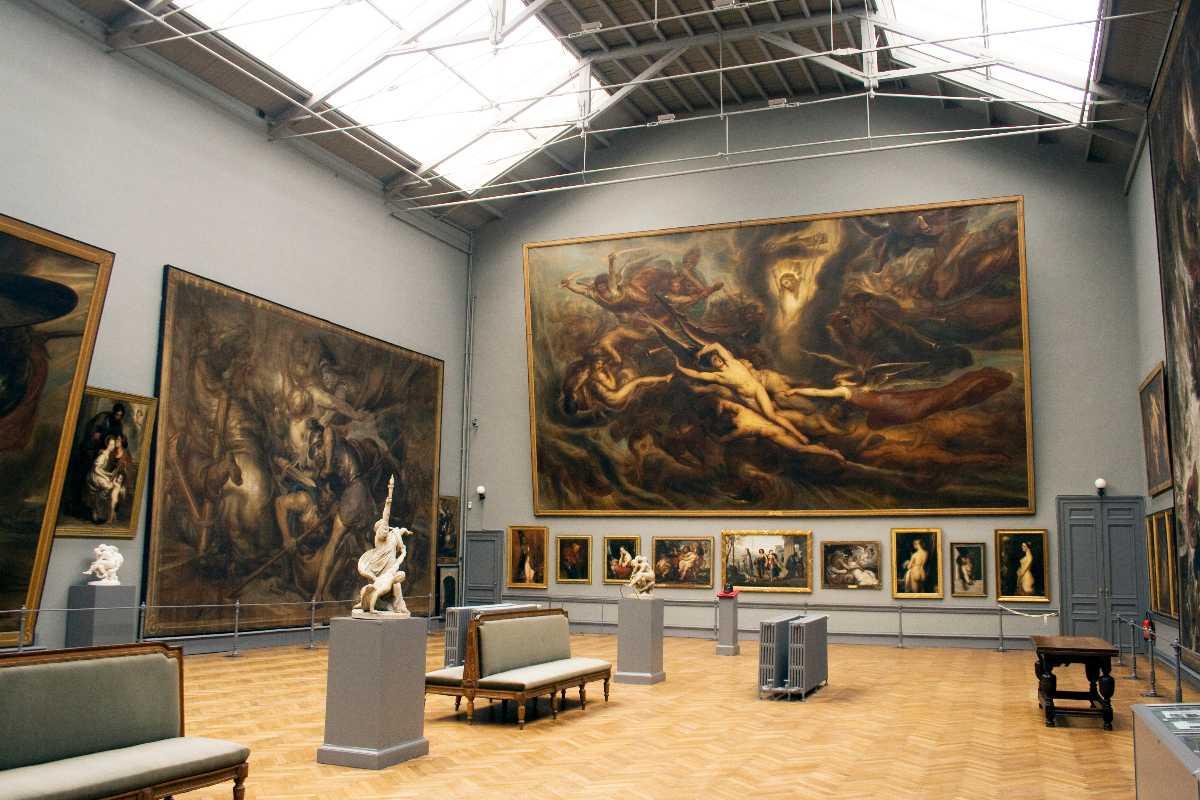royal museums of art of belgium; paintings