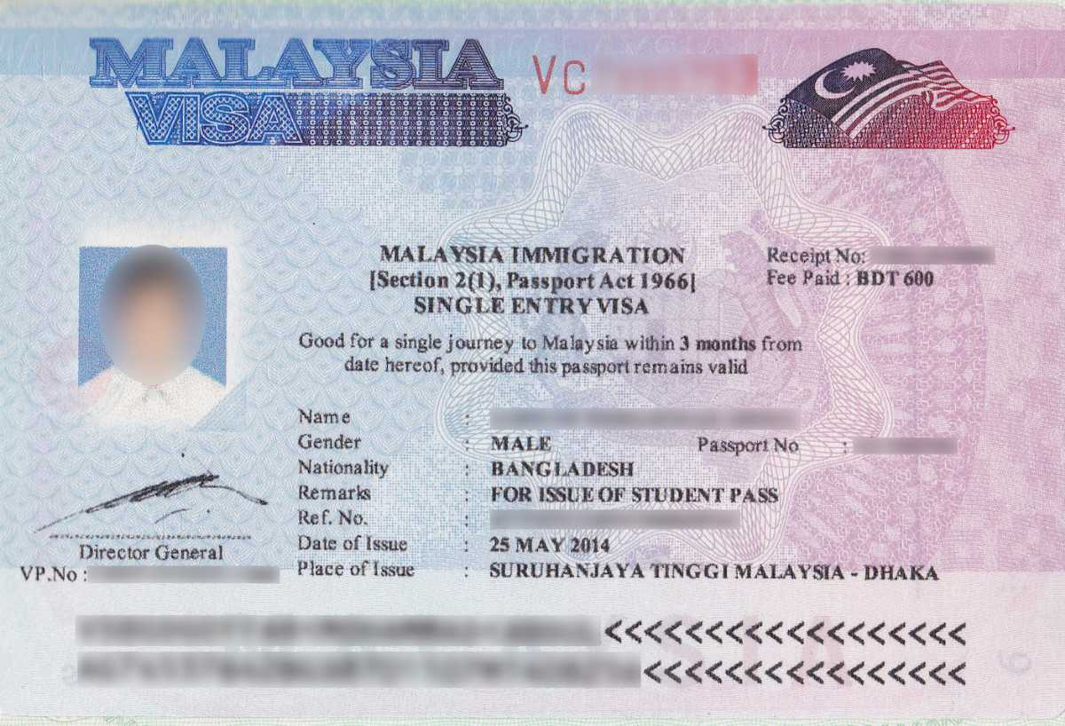 Online visa for malaysia