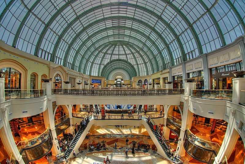 Dubai Mall, Mall of the emirates