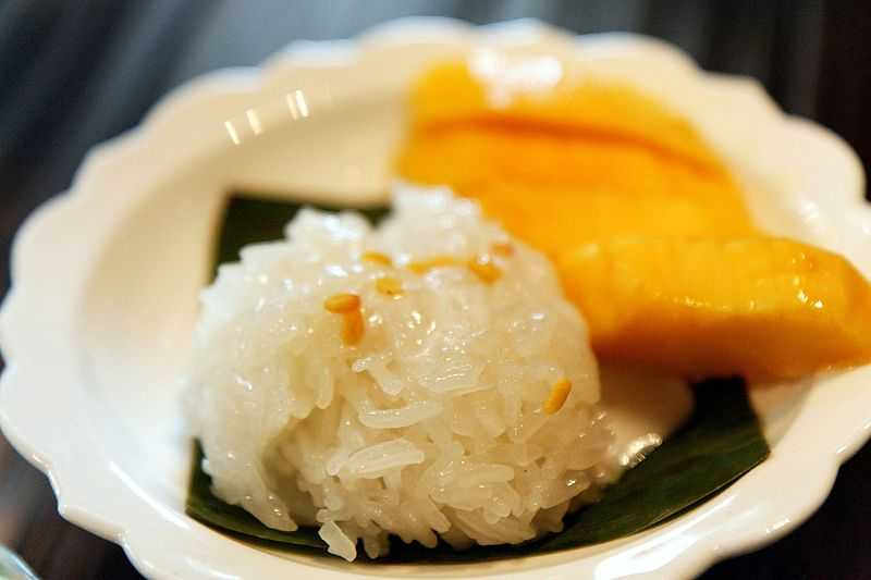Khao Niao sticky rice, Food in North Thailand, Northern Thailand Cuisine
