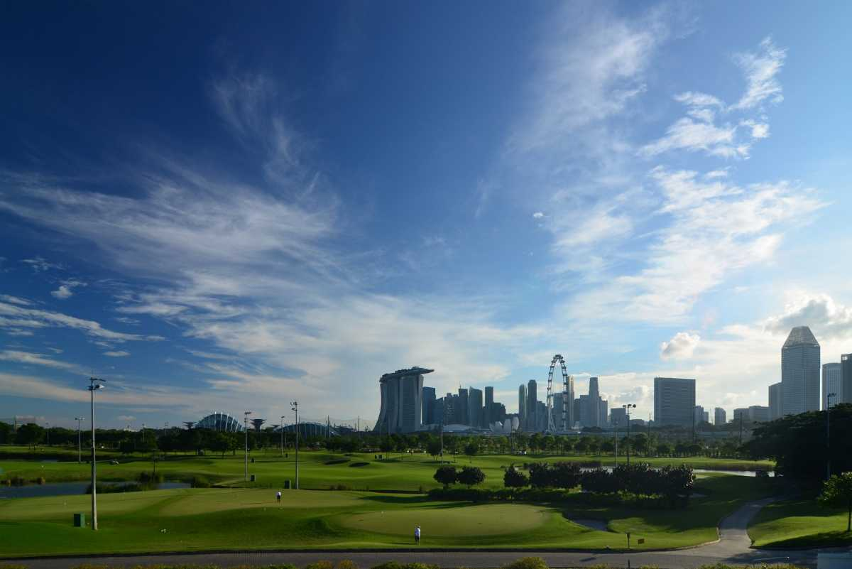 Marina Bay Golf Course, Golf Courses in Singapore