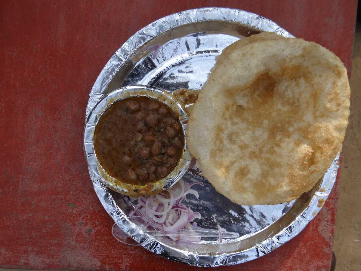 Om Corner, Famous Chole bhature in Delhi