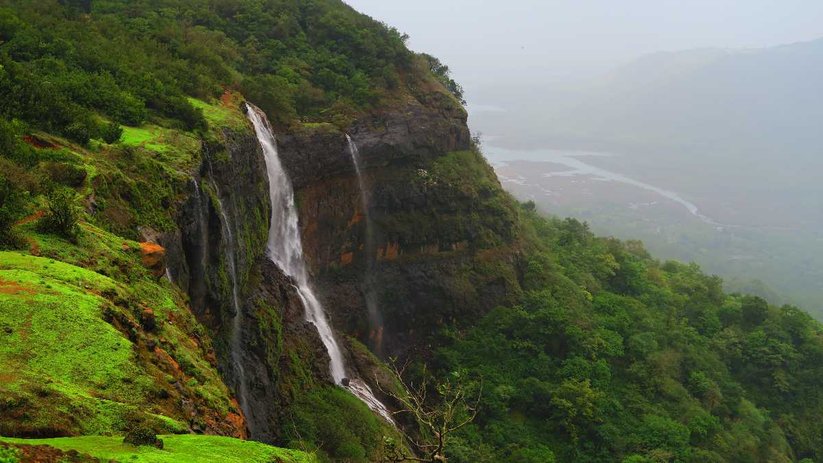 Matheran Waterfall