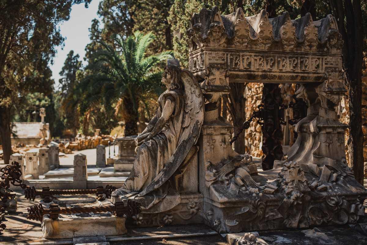 Cemetery on Montjuic