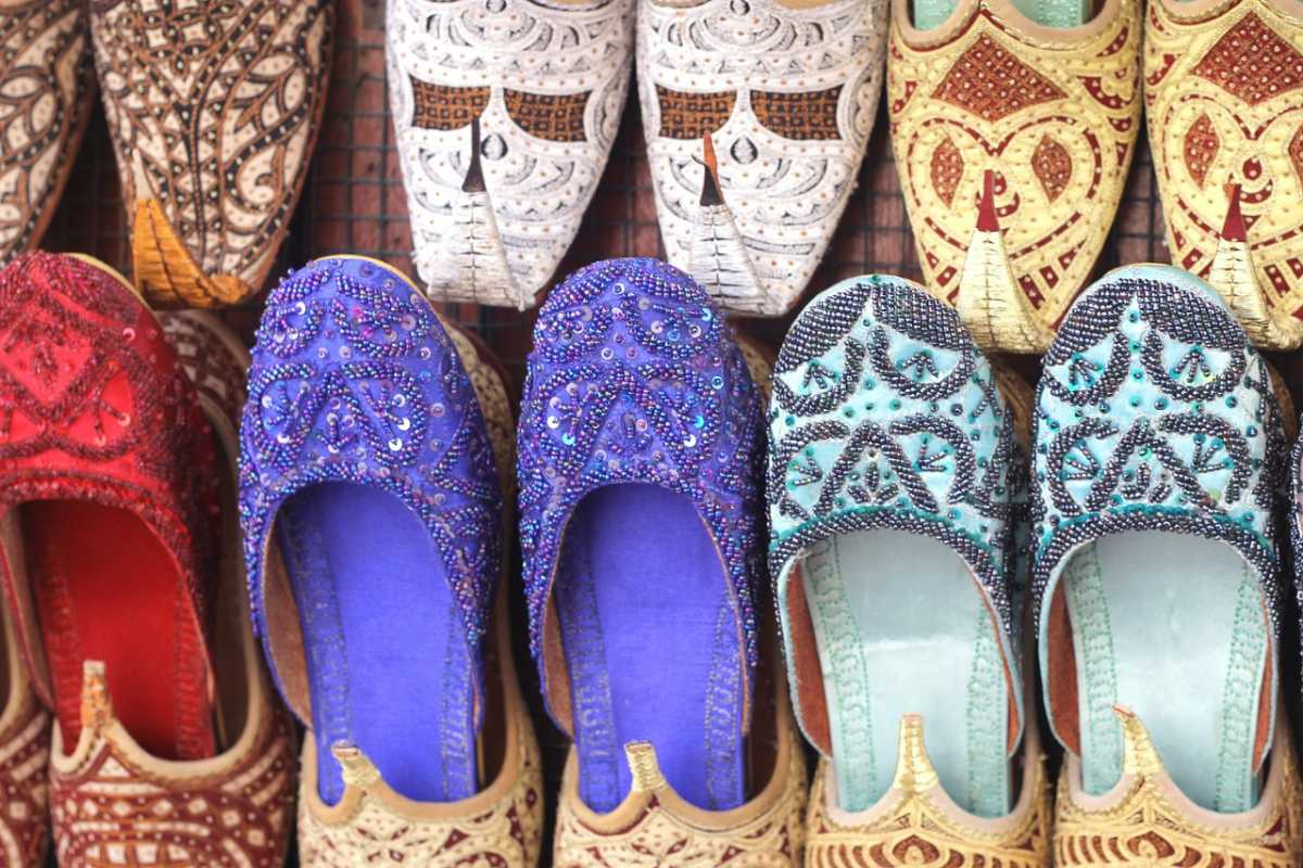 Arab shoes