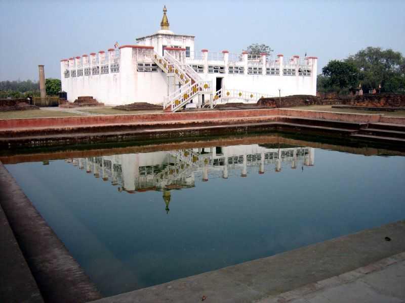 The Puskarni Pond.