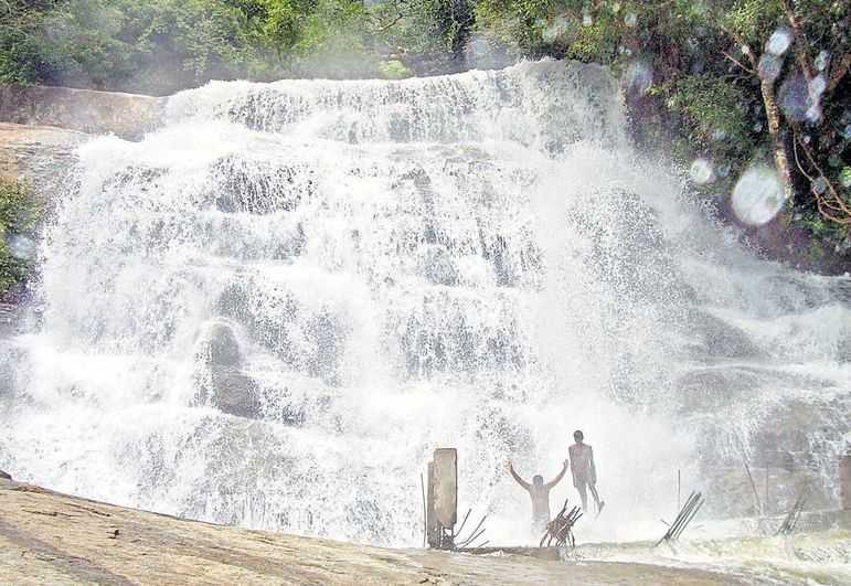 Meghamalai Falls
