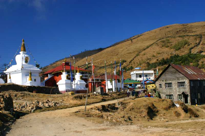 Meghma Village on the way to Sandakphu