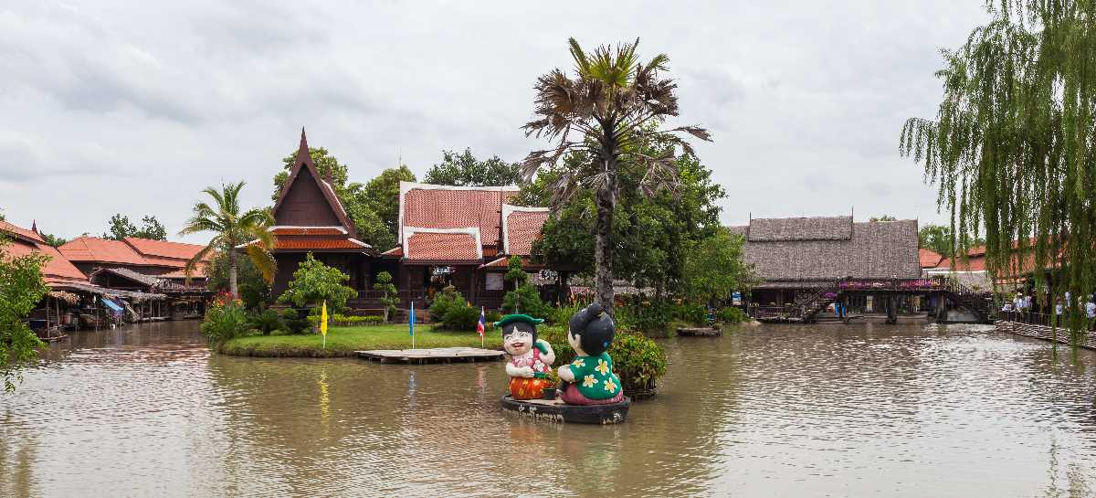 Chao Phraya River, Ayutthaya