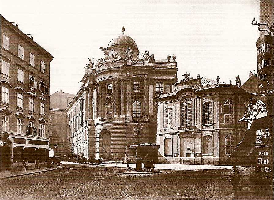 The Old Burgtheater or The National Theatre before 1888, Vienna