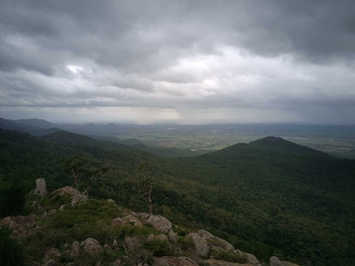 Monsoon Clouds BR Hills