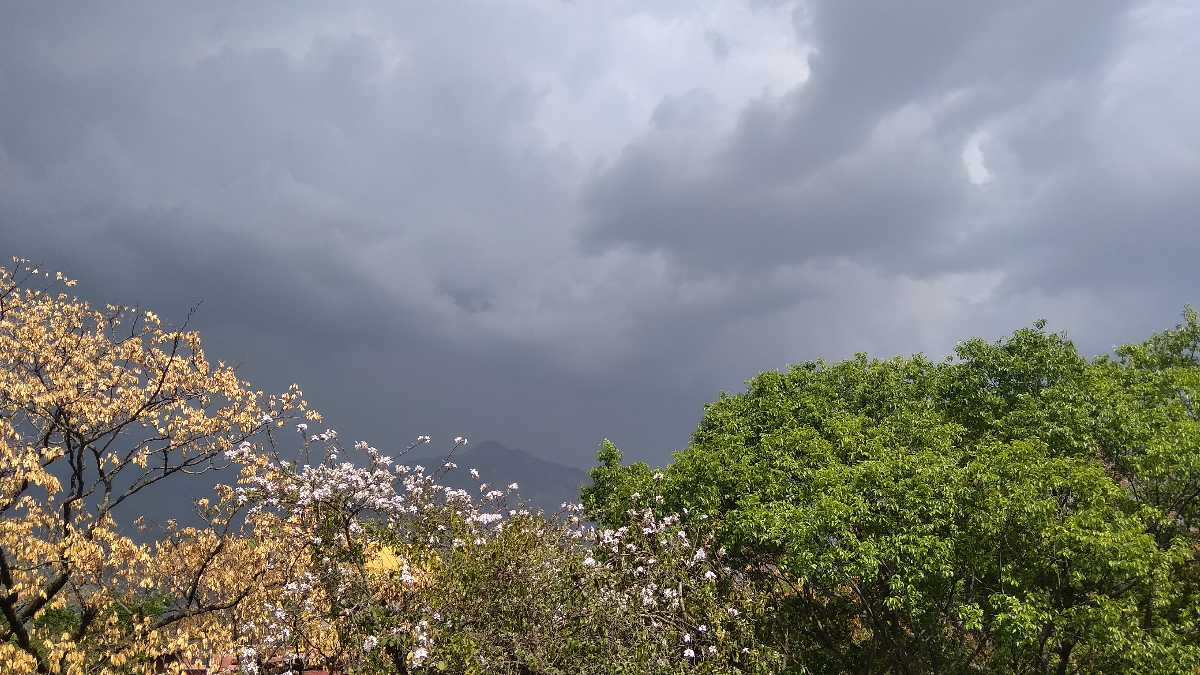 Monsoon in Himalayas
