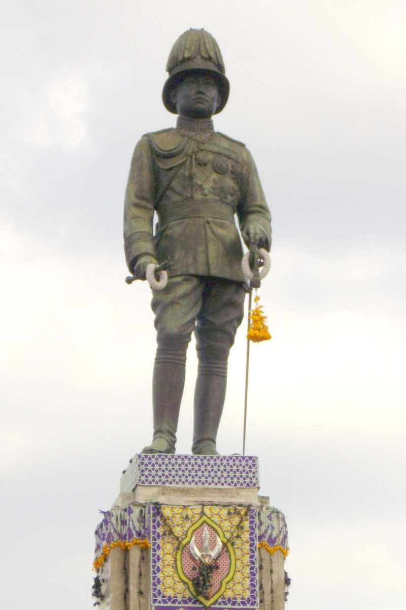 King Rama Statue, Lumpini Park