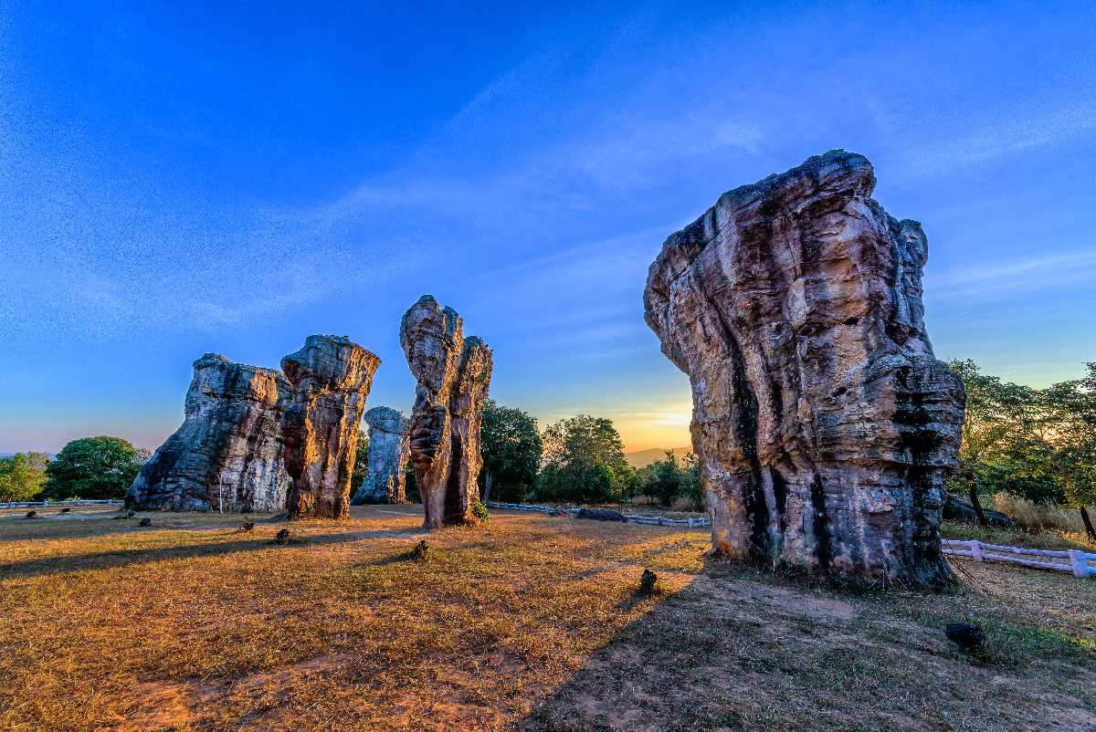 Mor Hin Khao, Landscapes of Thailand