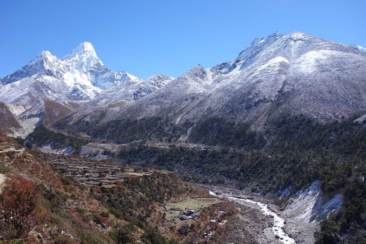 Mount Everest base camp, one of the best Landscapes of Nepal.