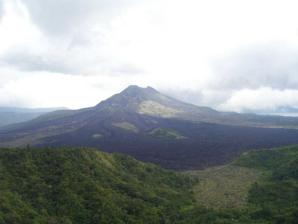 Mount Batur is Located in Kintamani region of Bali