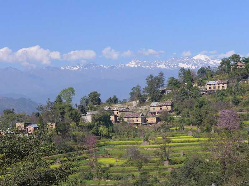 Nagarkot, Camping in Nepal