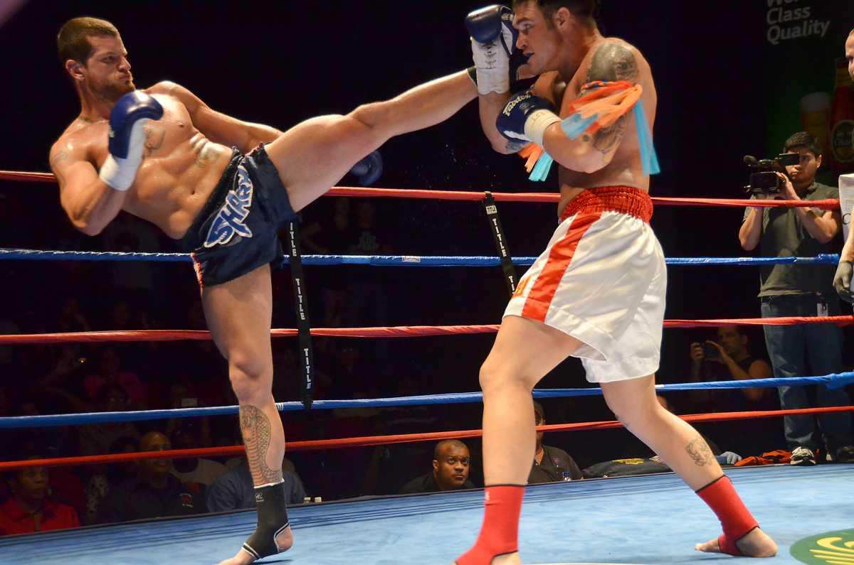 Muay Thai Kickboxing Match