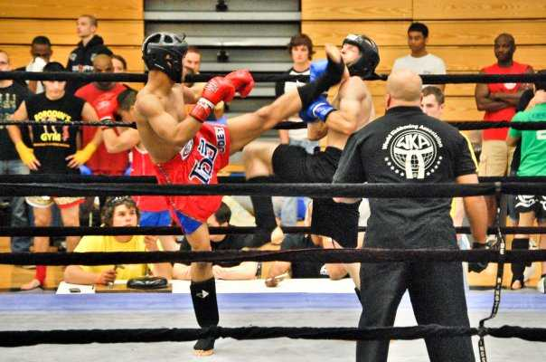Muay Thai 'Front Kick', Muay Thai Kickboxing