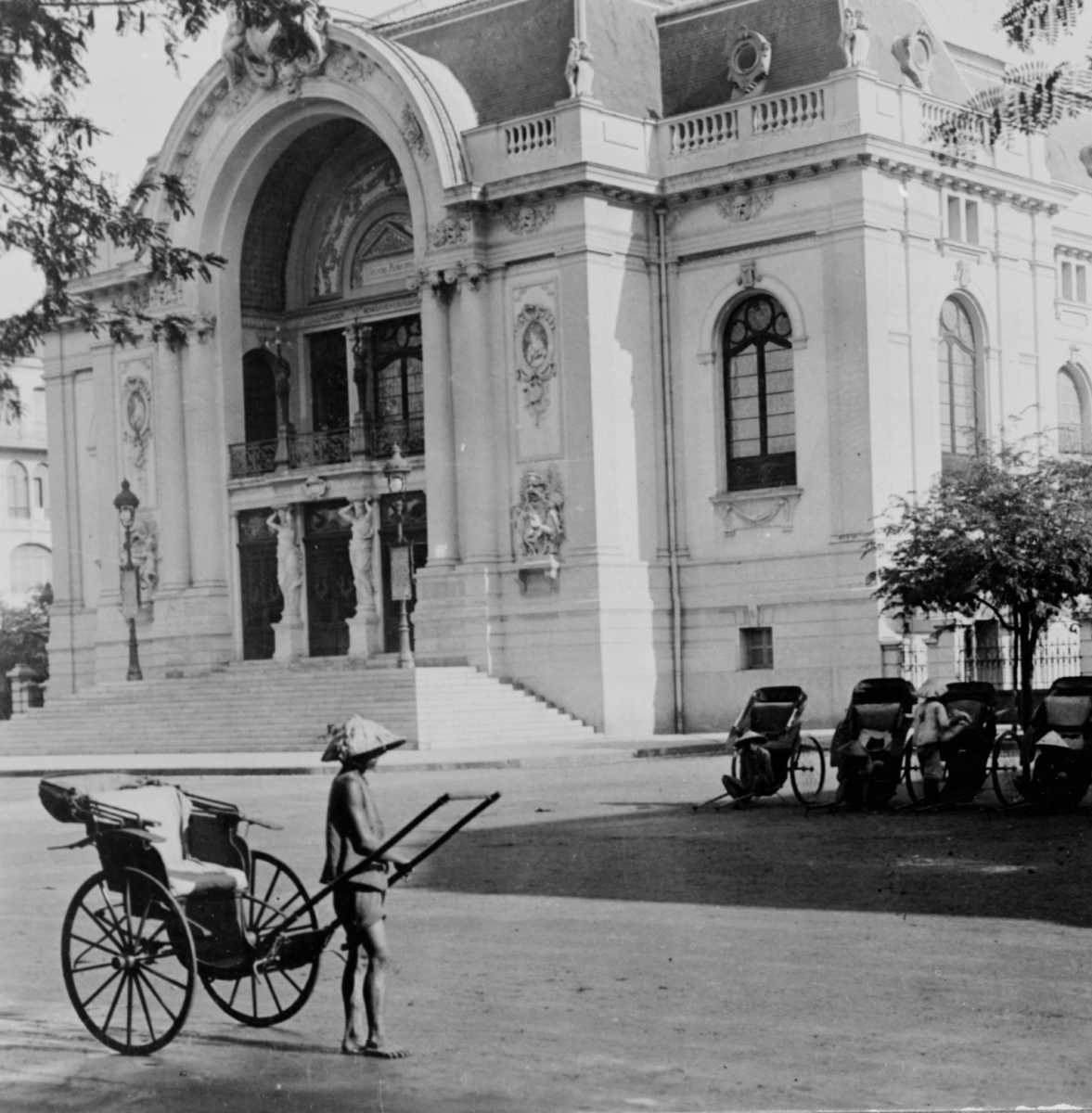 Saigon Opera House in the Early 1900s