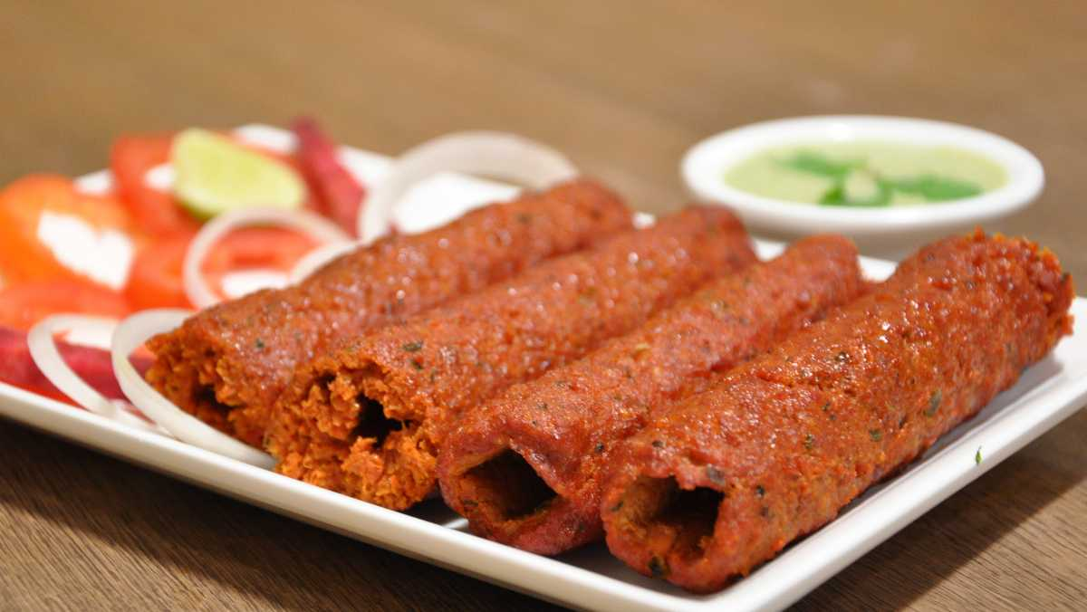 The Third Eye Restaurant is famous for its Mutton Seekh Kebab.