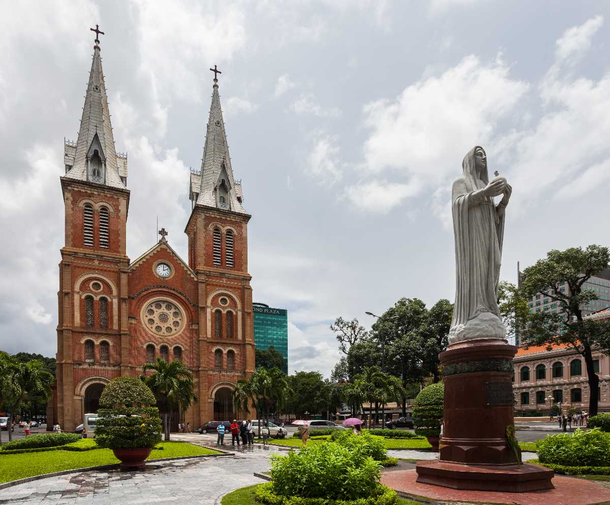 Notre-Dame Basilica Ho Chi Minh City, French Architecture in Vietnam