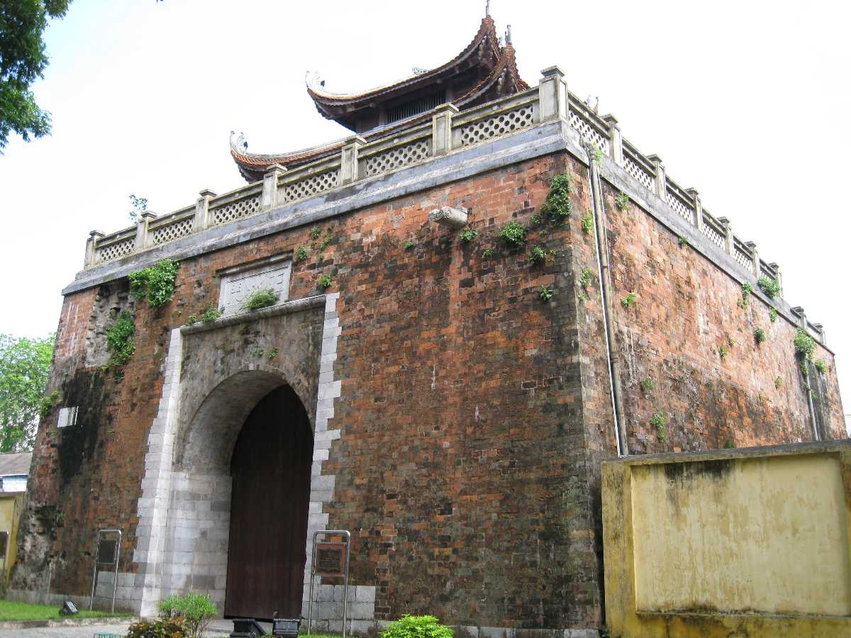 North Gate of Imperial Citadel of Thang Long Hanoi