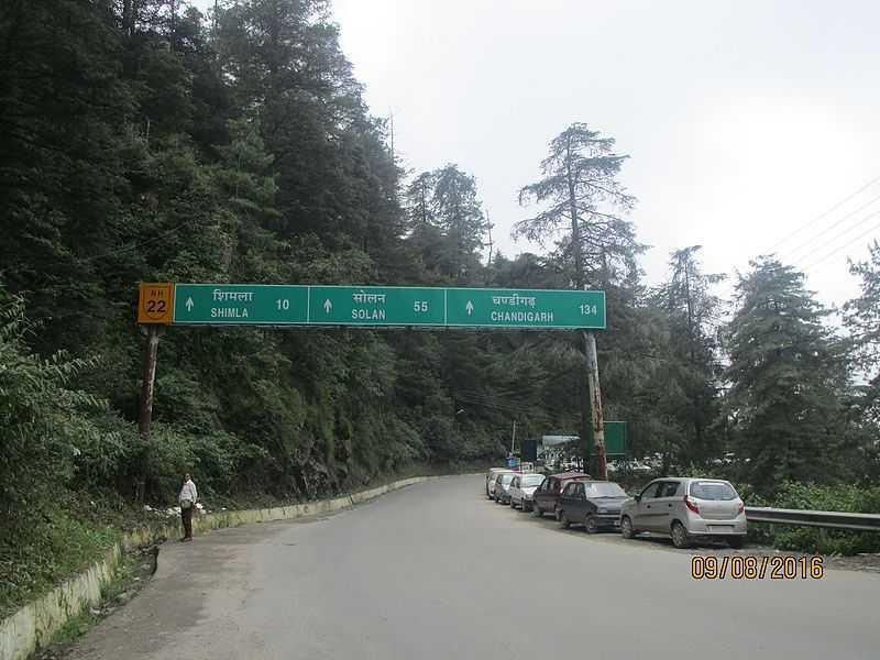 Road to Shimla