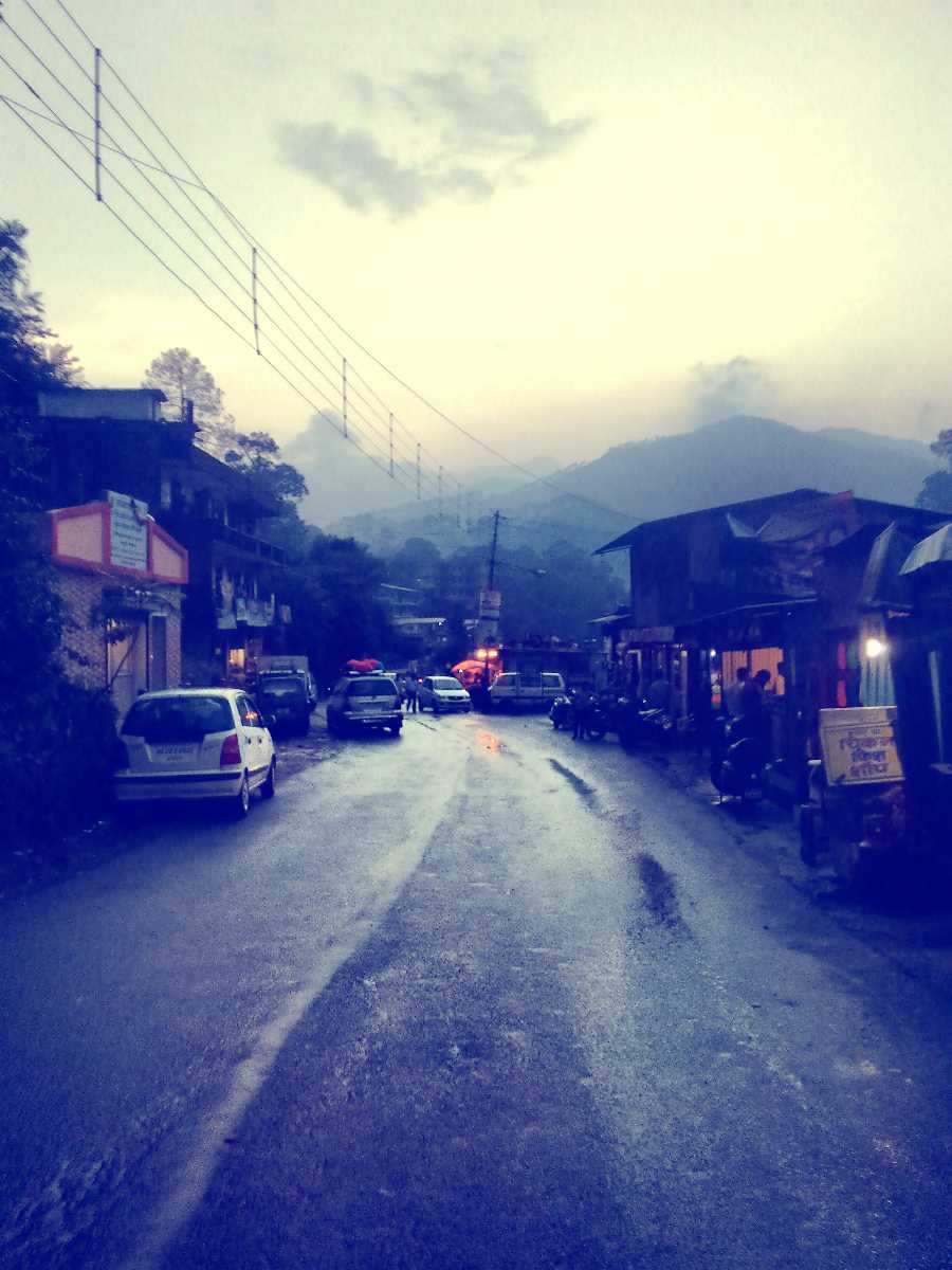 Nainital Roads after the Rains