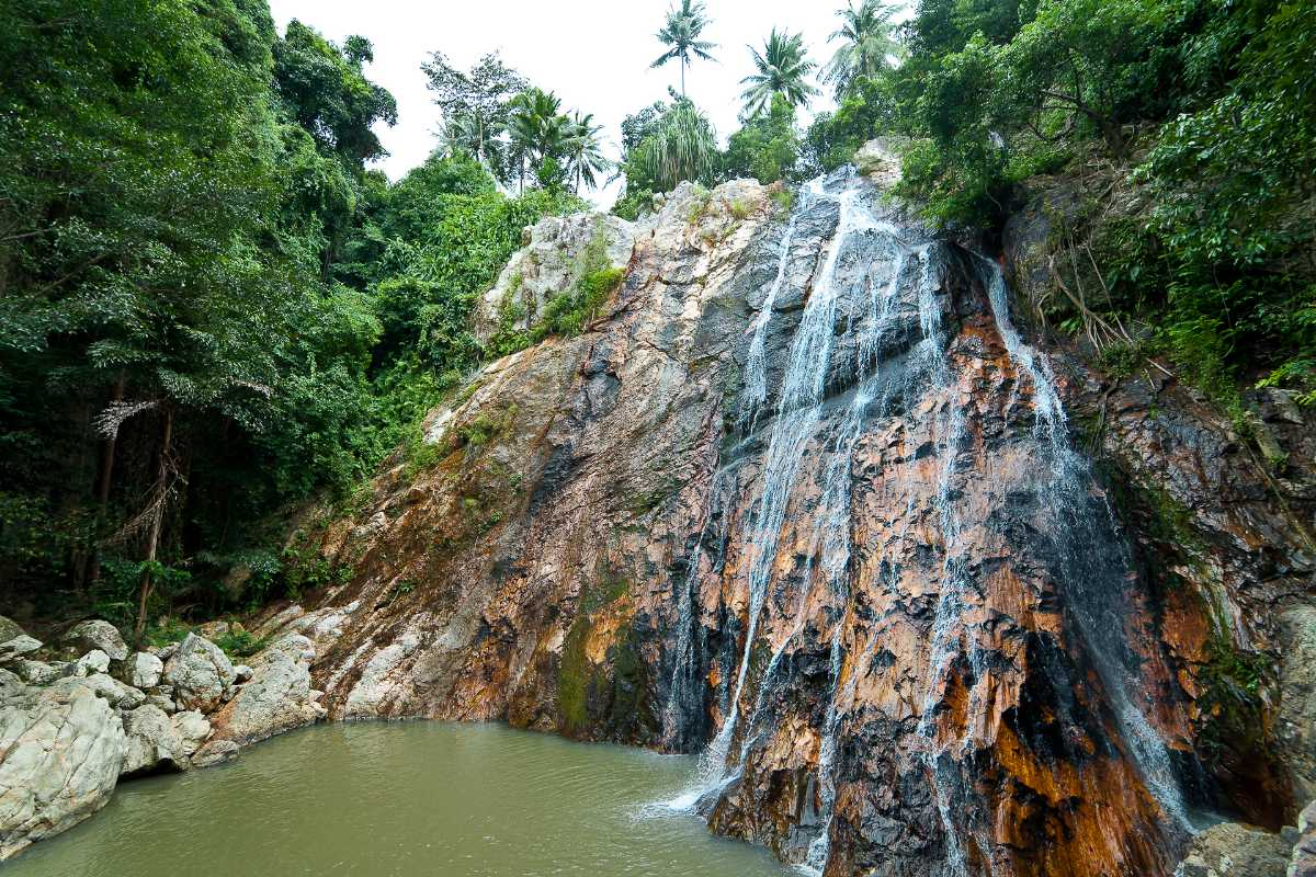 Na Muang Waterfalls, Honeymoon in Koh Samui